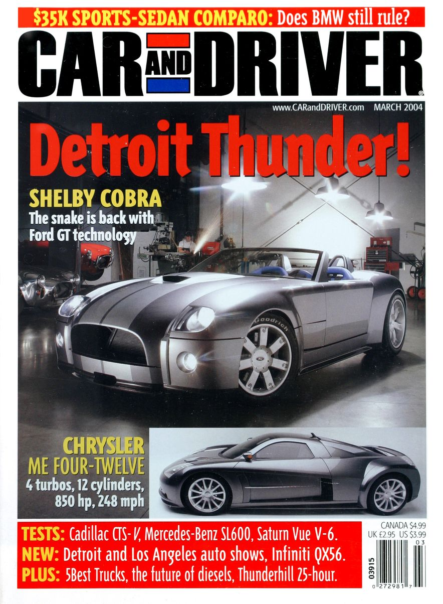 Going Millennial: The Car and Driver Covers of the 2000s and 2010s - Slide 52