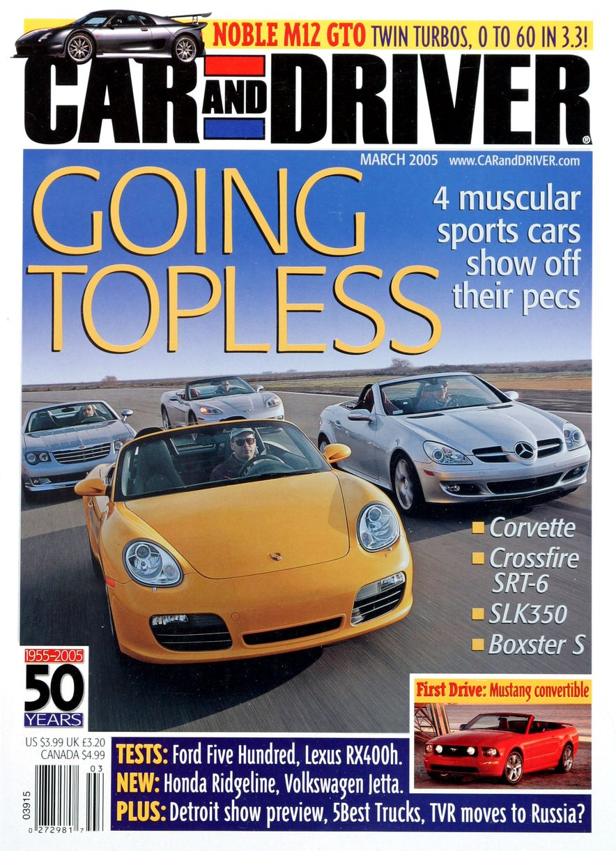 Going Millennial: The Car and Driver Covers of the 2000s and 2010s - Slide 64
