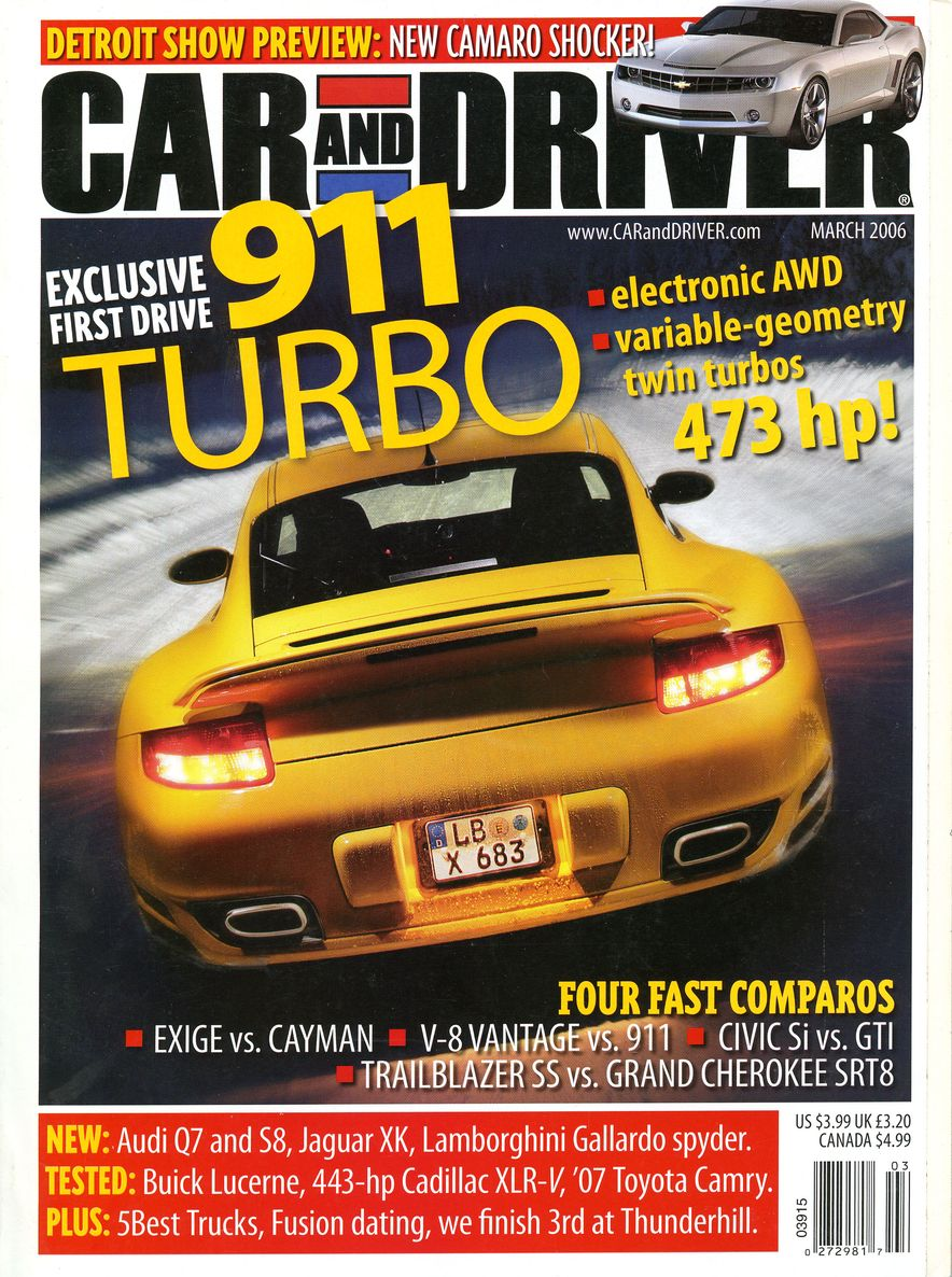 Going Millennial: The Car and Driver Covers of the 2000s and 2010s - Slide 76