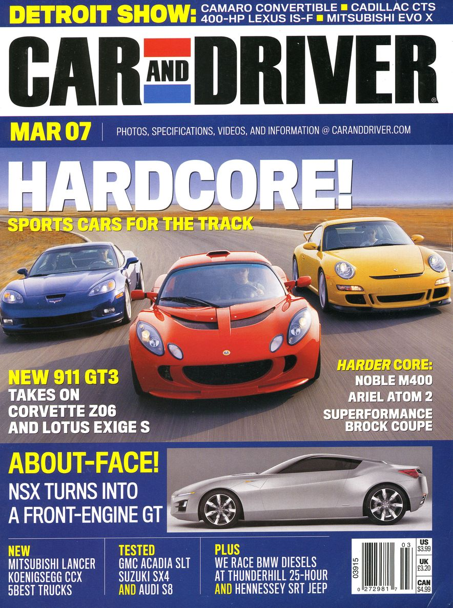 Going Millennial: The Car and Driver Covers of the 2000s and 2010s - Slide 88
