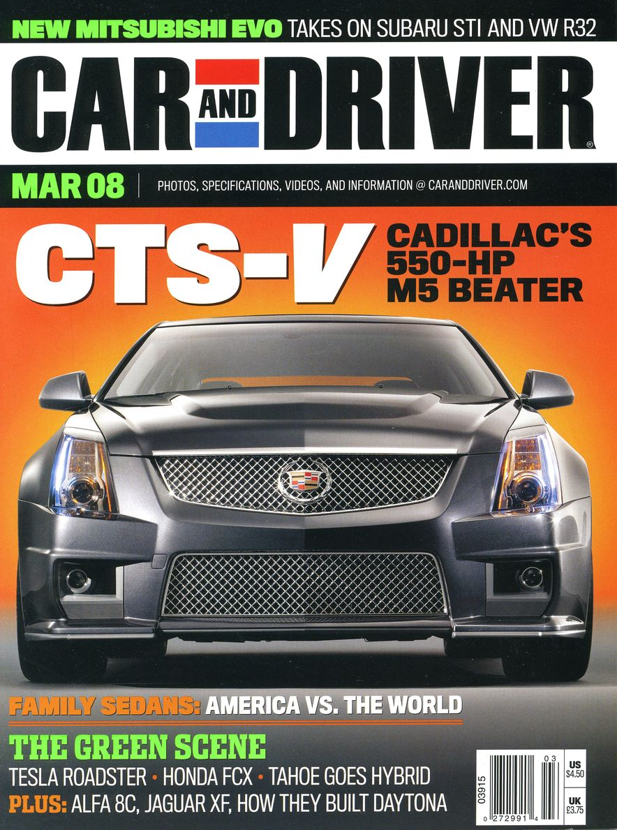 Going Millennial: The Car and Driver Covers of the 2000s and 2010s - Slide 100