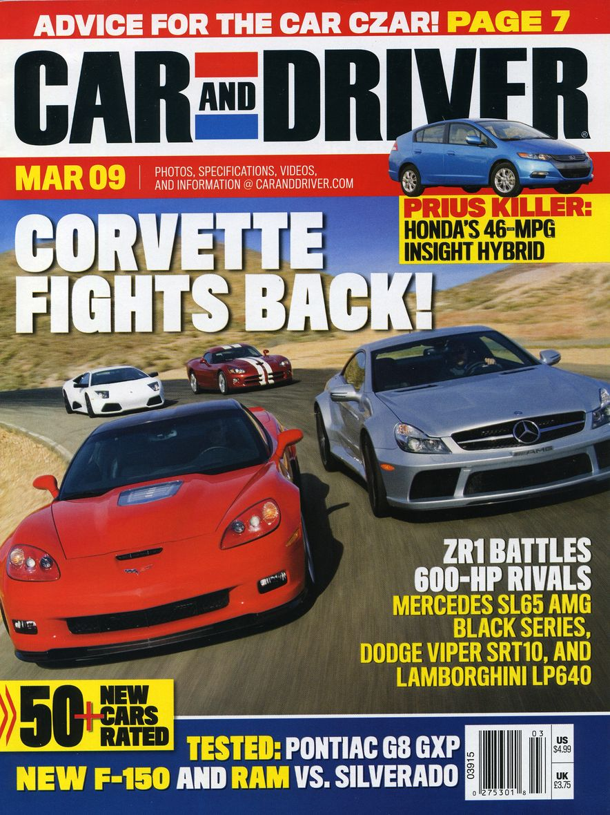 Going Millennial: The Car and Driver Covers of the 2000s and 2010s - Slide 112