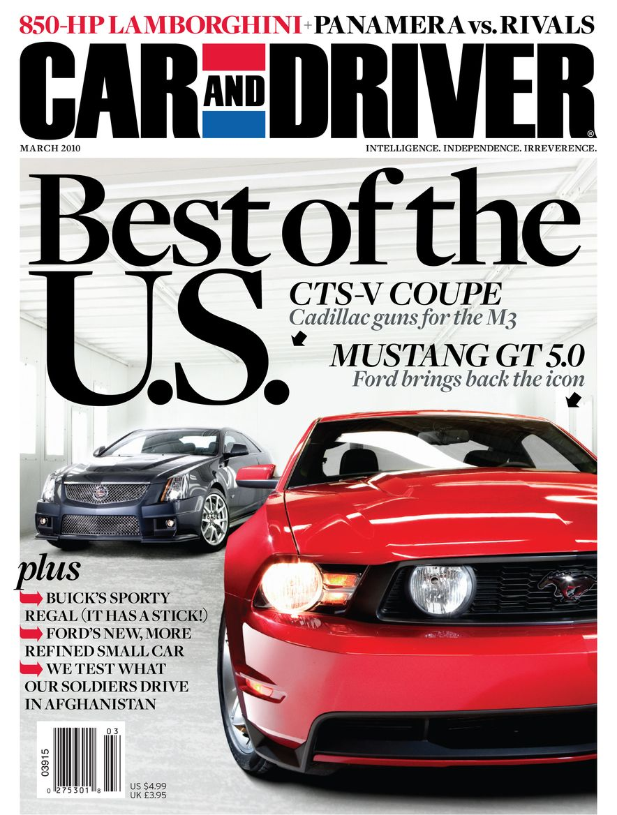 Going Millennial: The Car and Driver Covers of the 2000s and 2010s - Slide 124