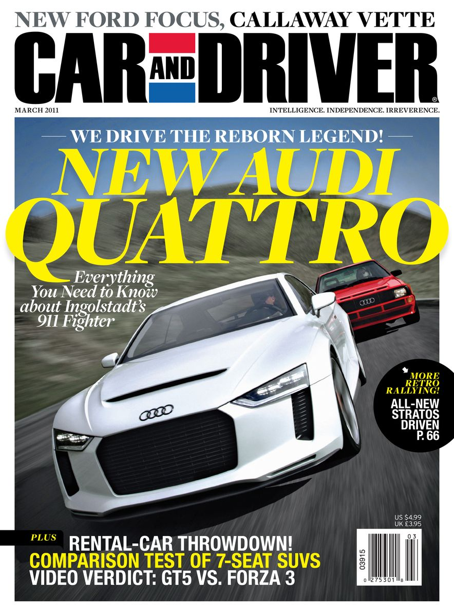 Going Millennial: The Car and Driver Covers of the 2000s and 2010s - Slide 136