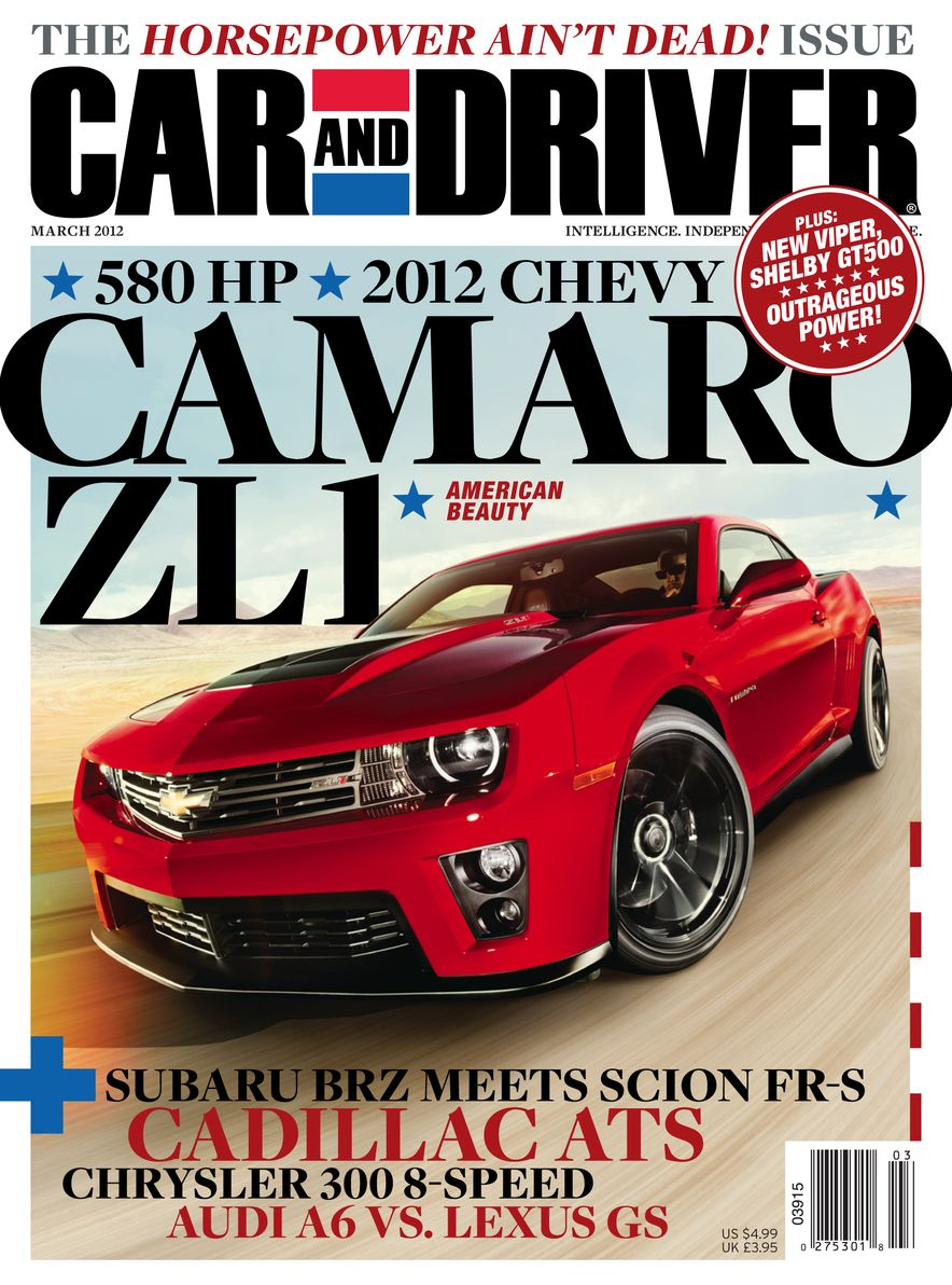 Going Millennial: The Car and Driver Covers of the 2000s and 2010s - Slide 148