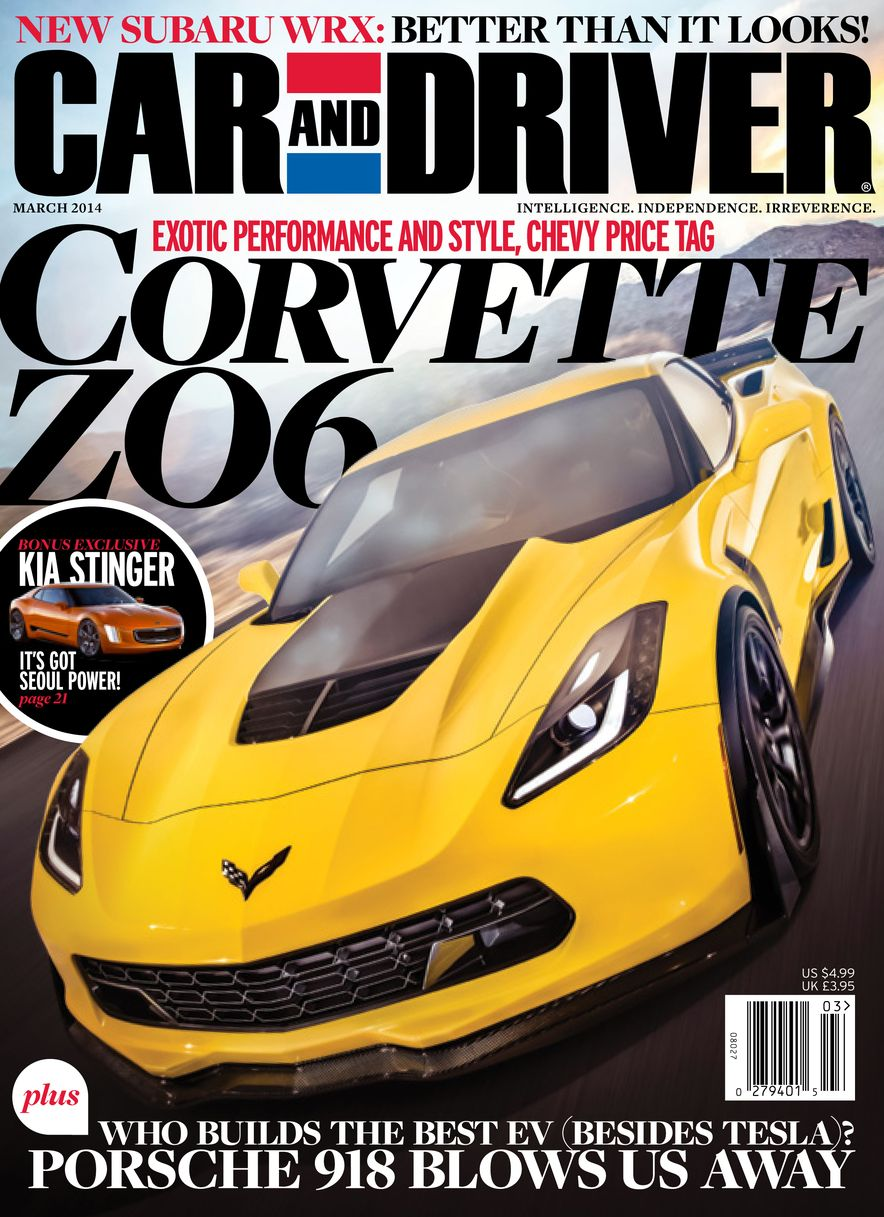 Going Millennial: The Car and Driver Covers of the 2000s and 2010s - Slide 172