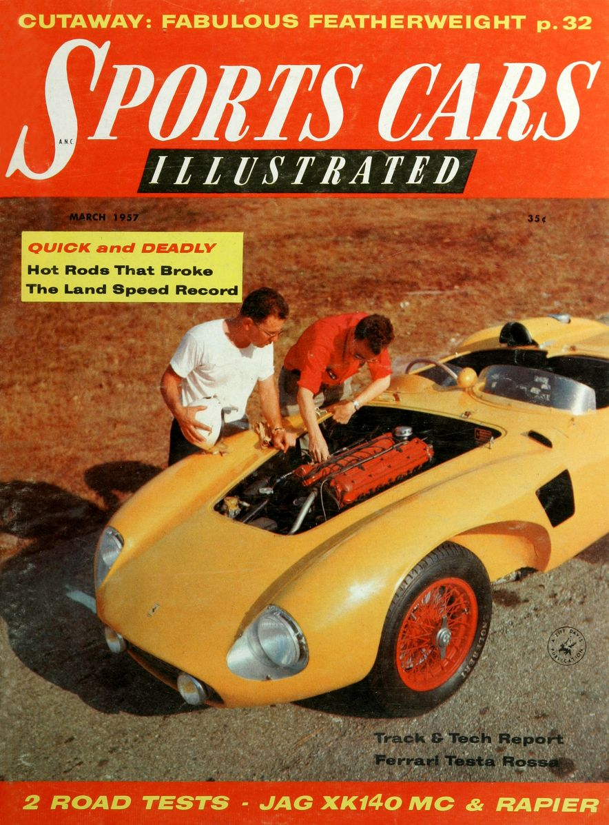 When We Were Young: The Car and Driver/Sports Cars Illustrated Covers of the 1950s - Slide 22