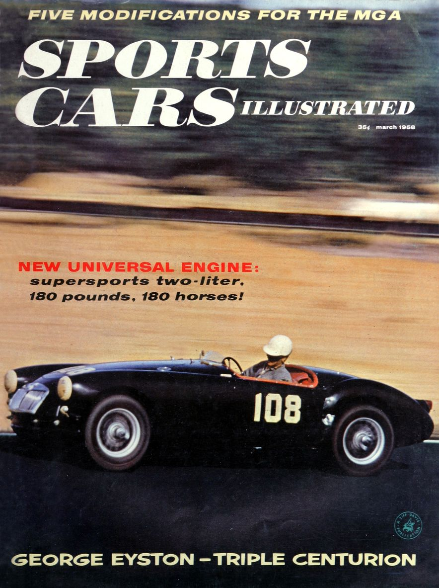 When We Were Young: The Car and Driver/Sports Cars Illustrated Covers of the 1950s - Slide 34