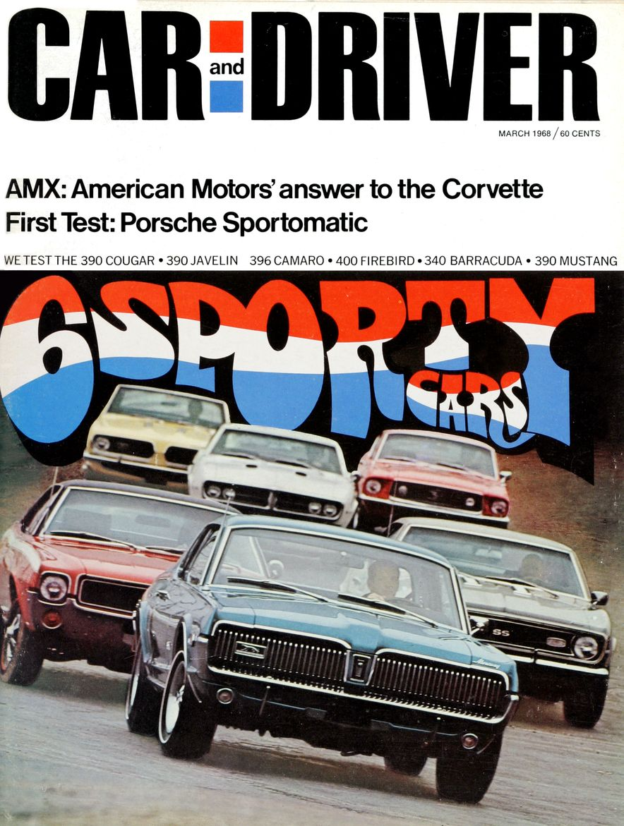 Getting Groovy and into the Groove: The Car and Driver Covers of the 1960s - Slide 100