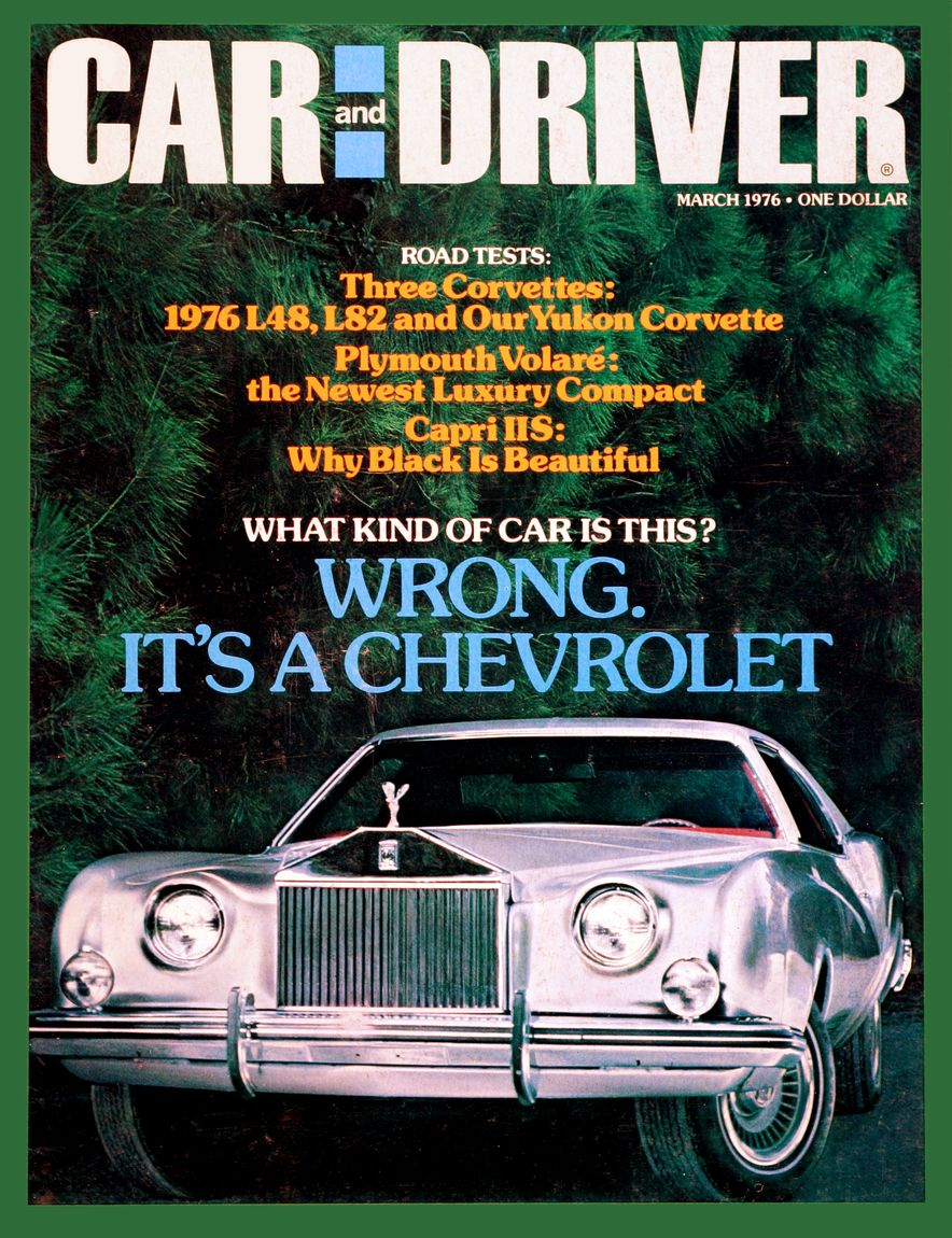 The Us Decade: The Car and Driver Covers of the 1970s - Slide 76