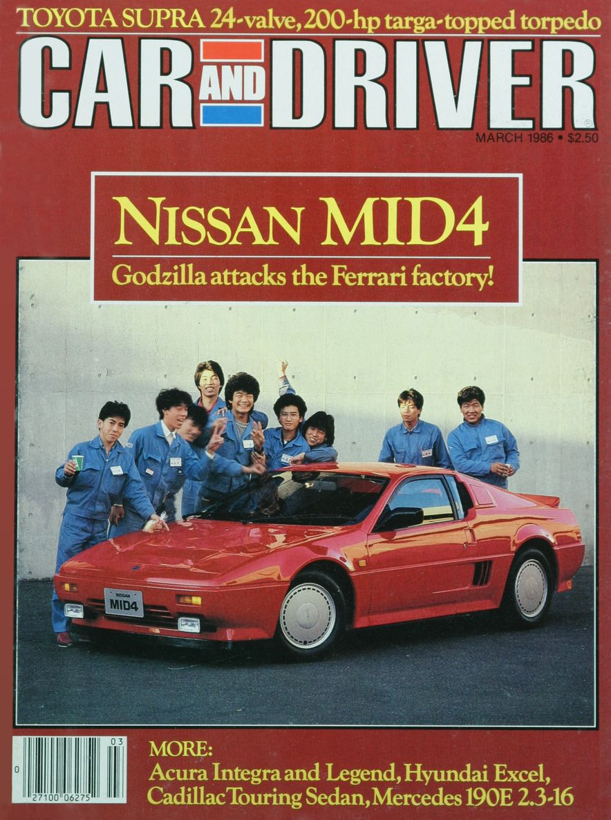 Like, Totally Rad: The Car and Driver Covers of the 1980s - Slide 76