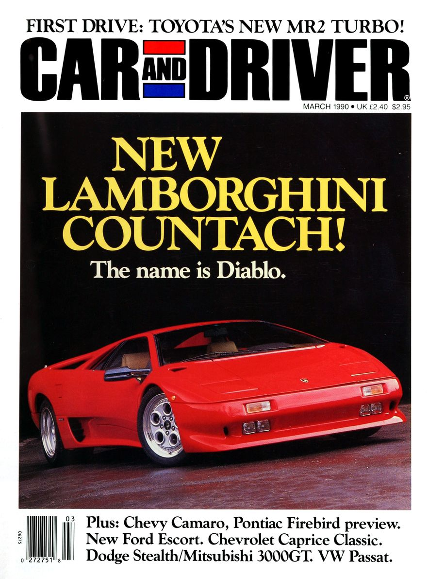 Formula C/D: The Car and Driver Covers of the 1990s - Slide 4