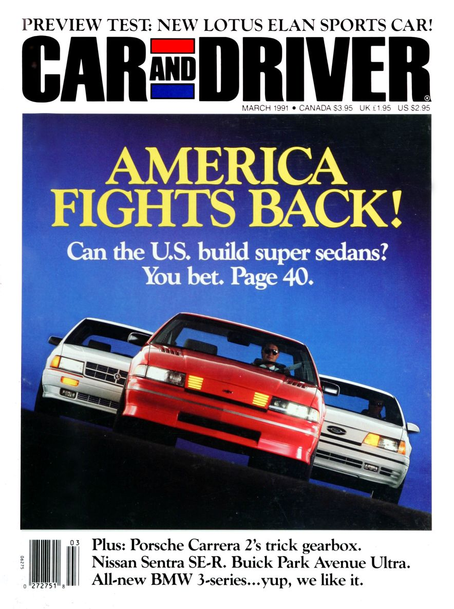 Formula C/D: The Car and Driver Covers of the 1990s - Slide 16