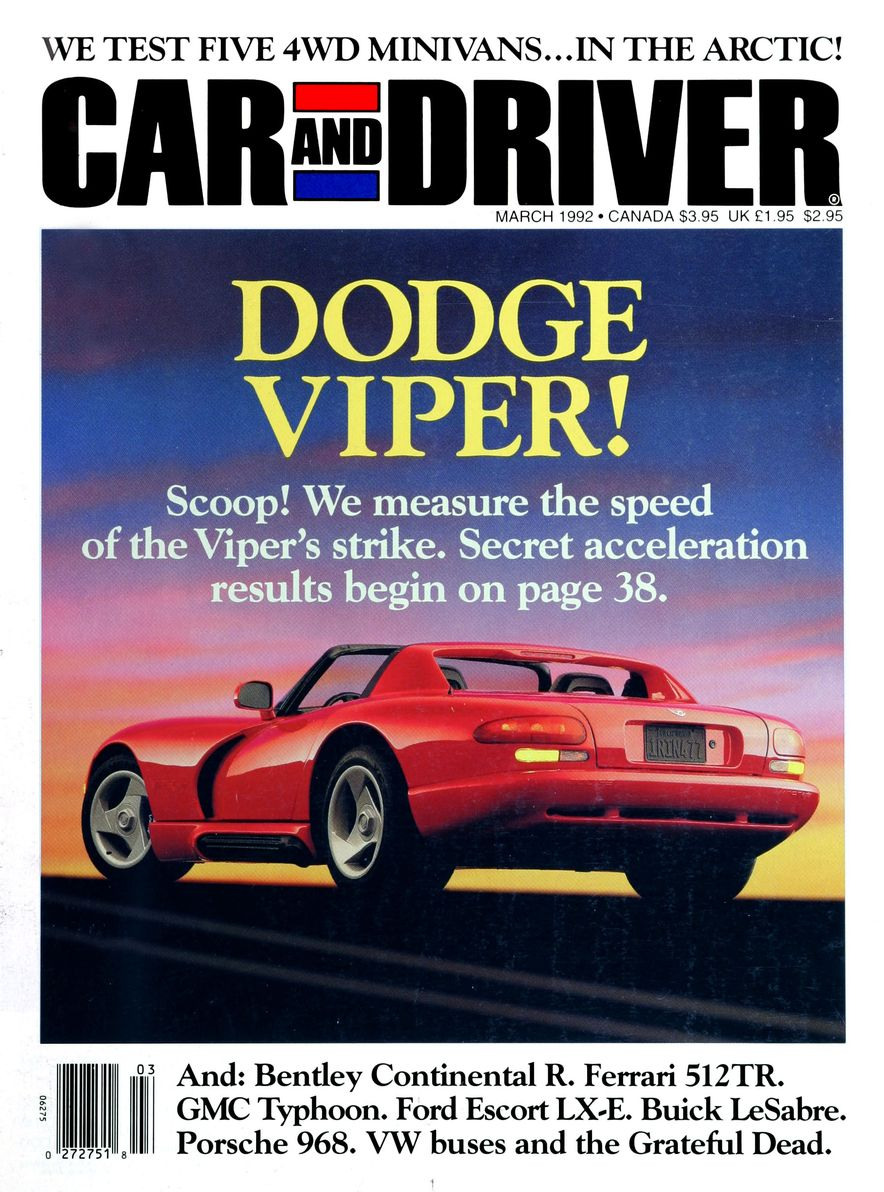 Formula C/D: The Car and Driver Covers of the 1990s - Slide 28