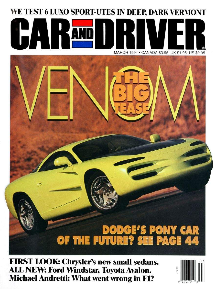 Formula C/D: The Car and Driver Covers of the 1990s - Slide 52
