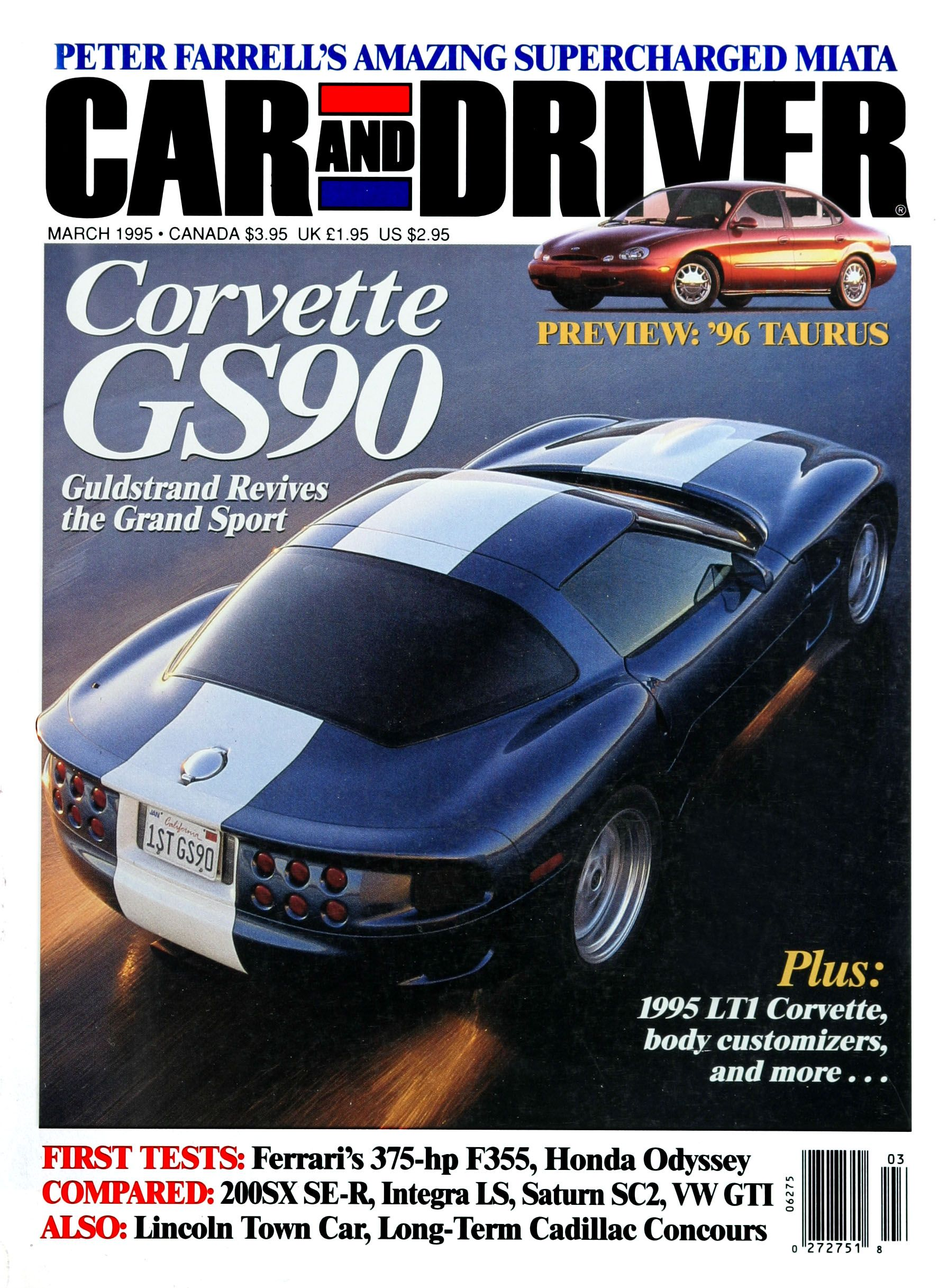 Formula C/D: The Car And Driver Covers Of The 1990s   Slide 64