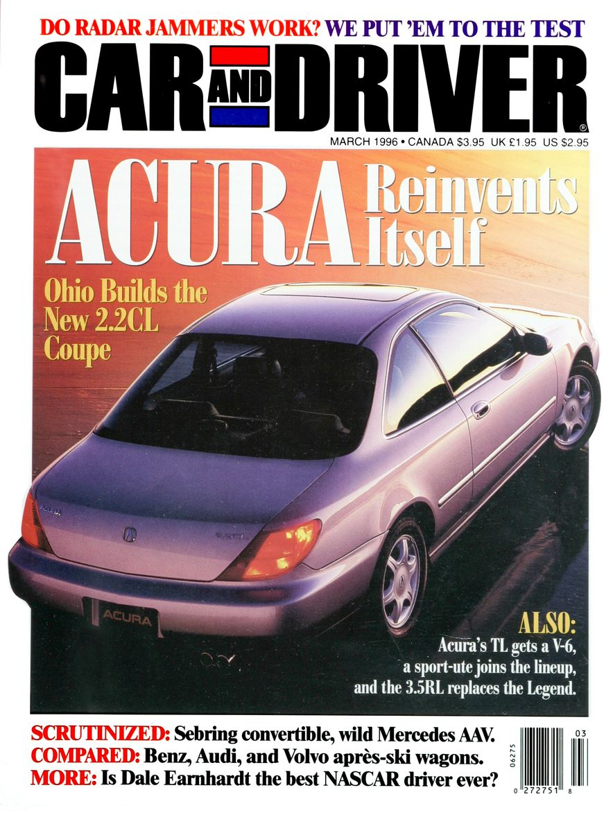 Formula C/D: The Car and Driver Covers of the 1990s - Slide 76