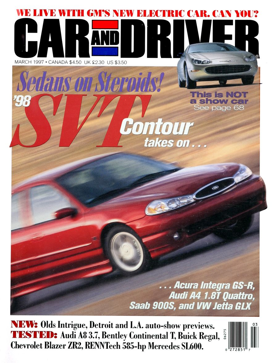 Formula C/D: The Car and Driver Covers of the 1990s - Slide 88