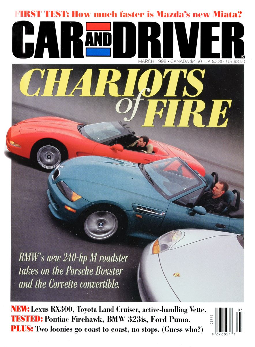 Formula C/D: The Car and Driver Covers of the 1990s - Slide 100