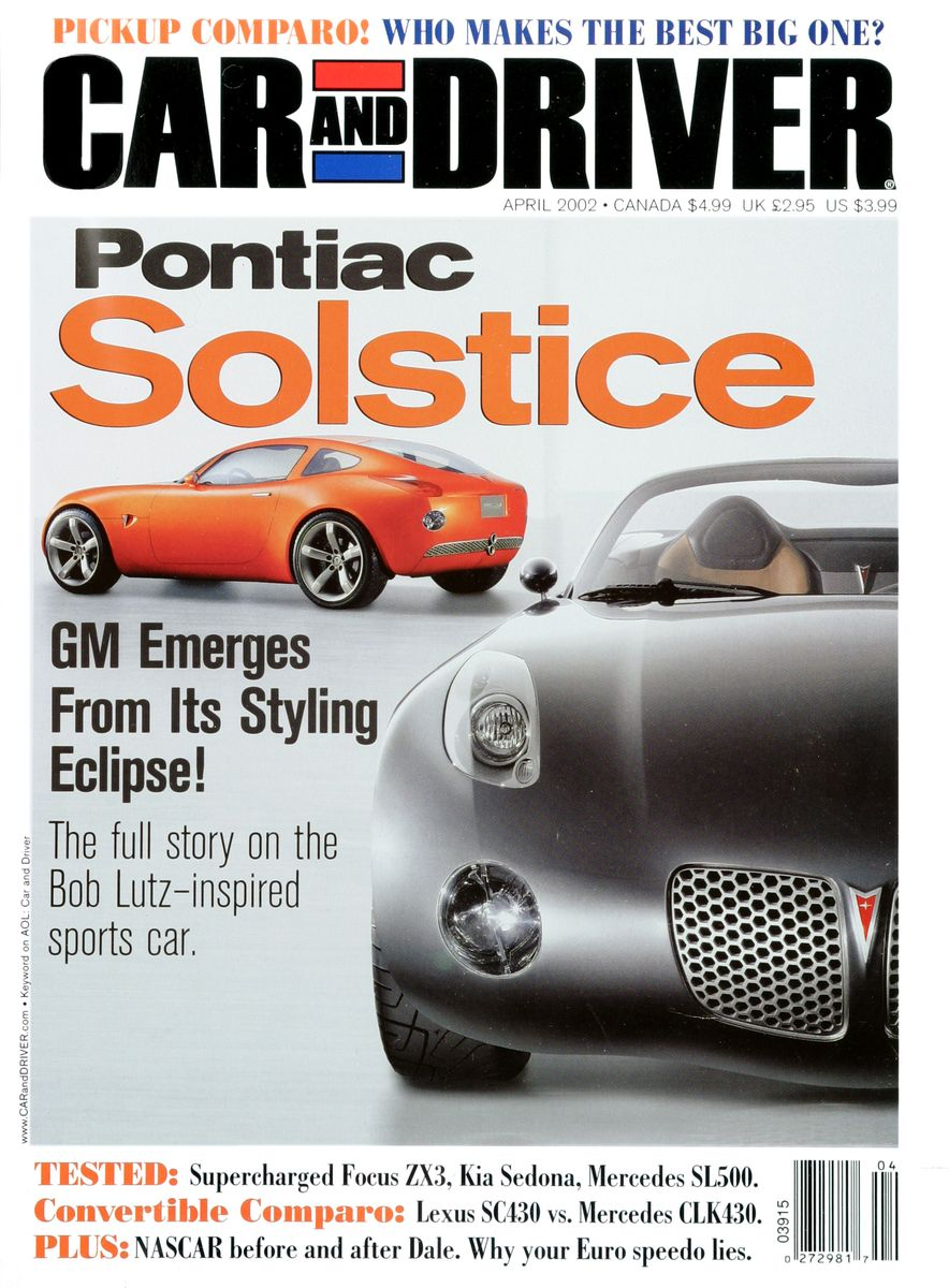 Going Millennial: The Car and Driver Covers of the 2000s and 2010s - Slide 29