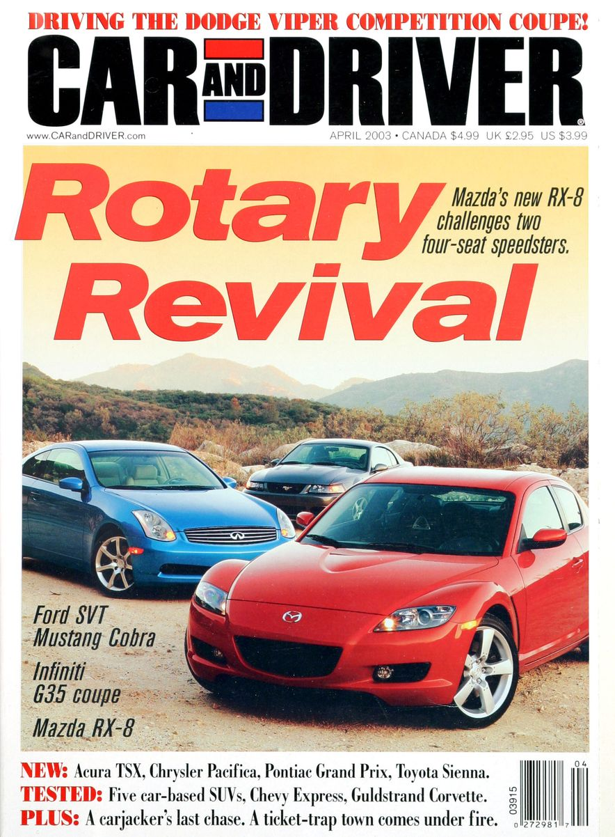 Going Millennial: The Car and Driver Covers of the 2000s and 2010s - Slide 41