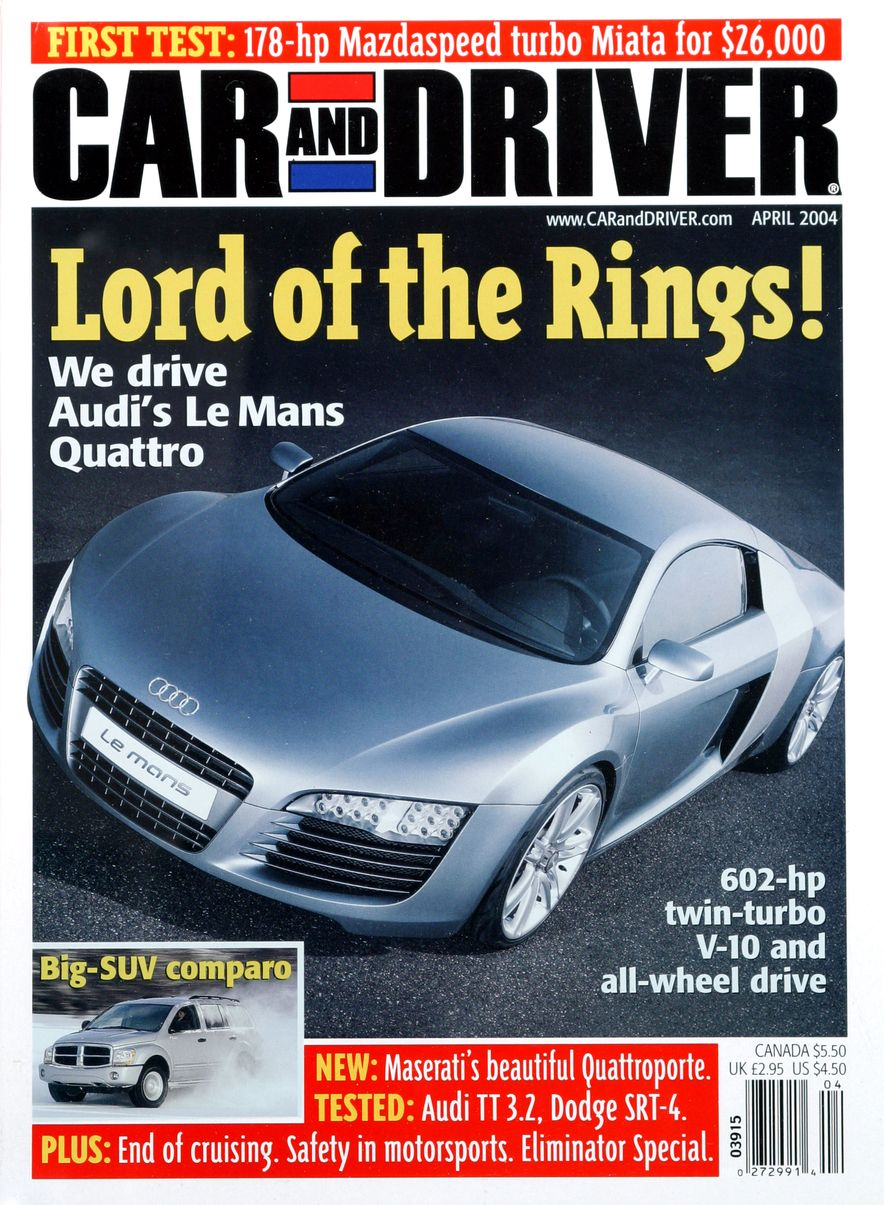 Going Millennial: The Car and Driver Covers of the 2000s and 2010s - Slide 53