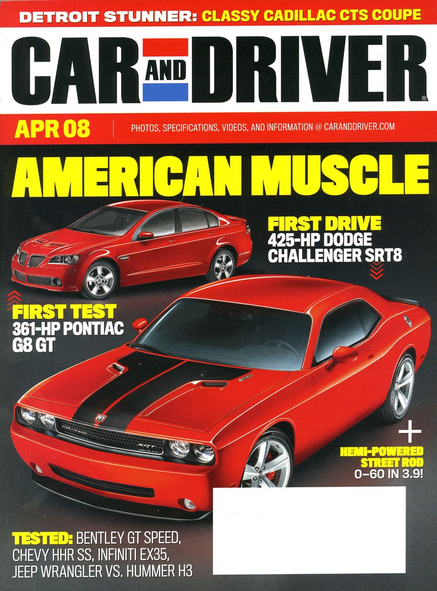 Going Millennial: The Car and Driver Covers of the 2000s and 2010s - Slide 101