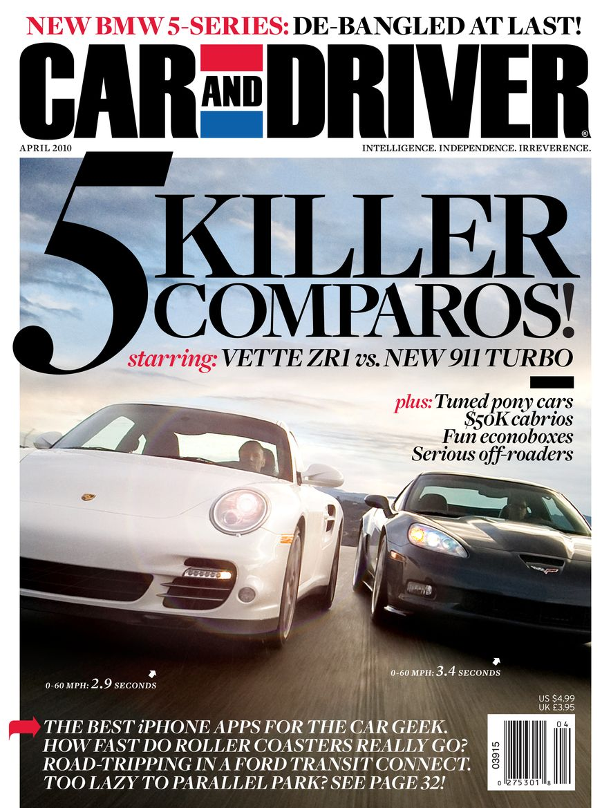 Going Millennial: The Car and Driver Covers of the 2000s and 2010s - Slide 125