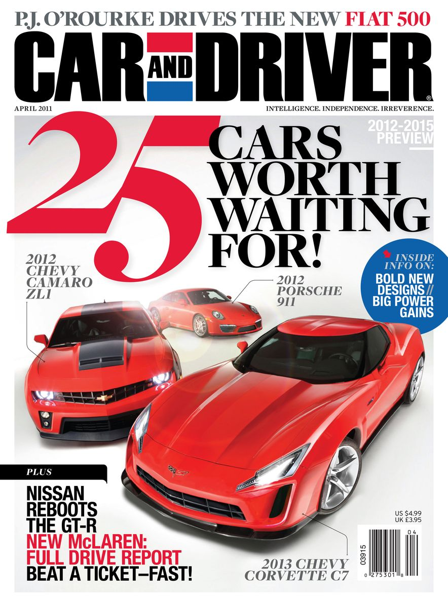 Going Millennial: The Car and Driver Covers of the 2000s and 2010s - Slide 137