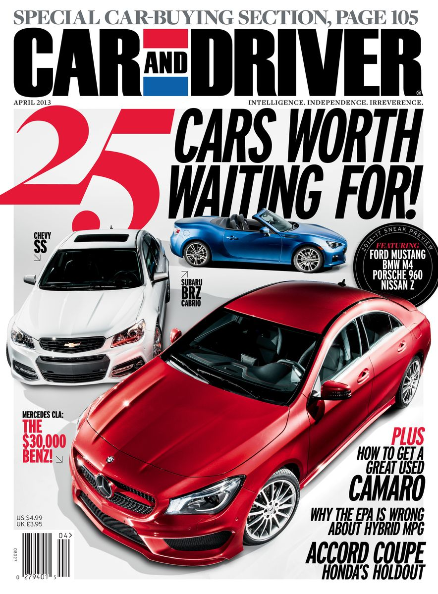 Going Millennial: The Car and Driver Covers of the 2000s and 2010s - Slide 161