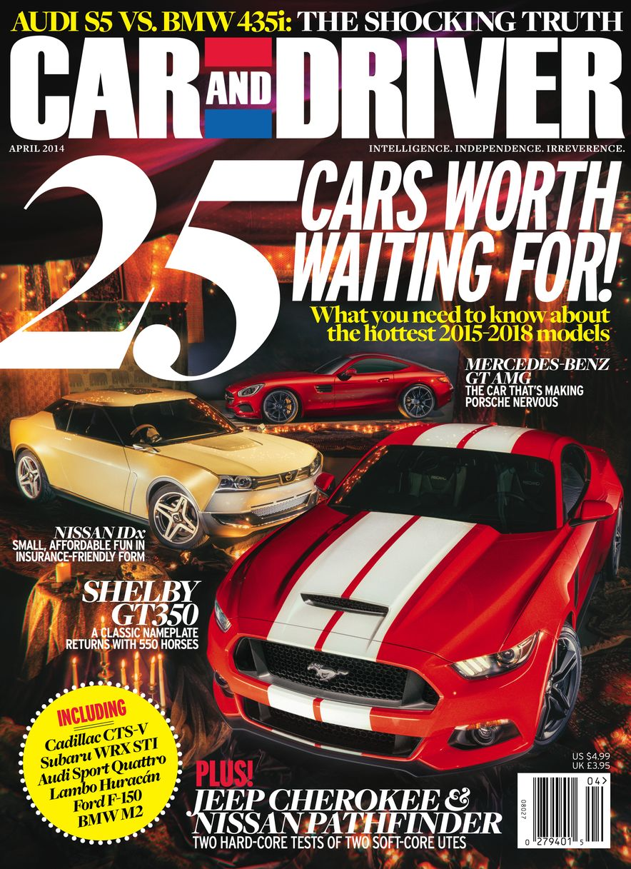 Going Millennial: The Car and Driver Covers of the 2000s and 2010s - Slide 173