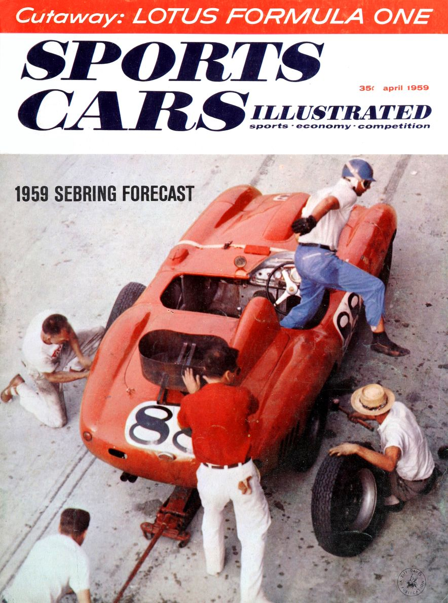 When We Were Young: The Car and Driver/Sports Cars Illustrated Covers of the 1950s - Slide 47