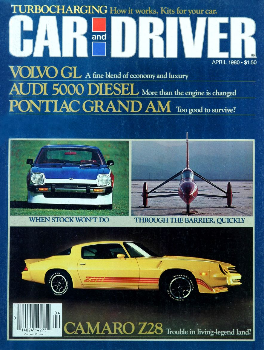 Like, Totally Rad: The Car and Driver Covers of the 1980s - Slide 5