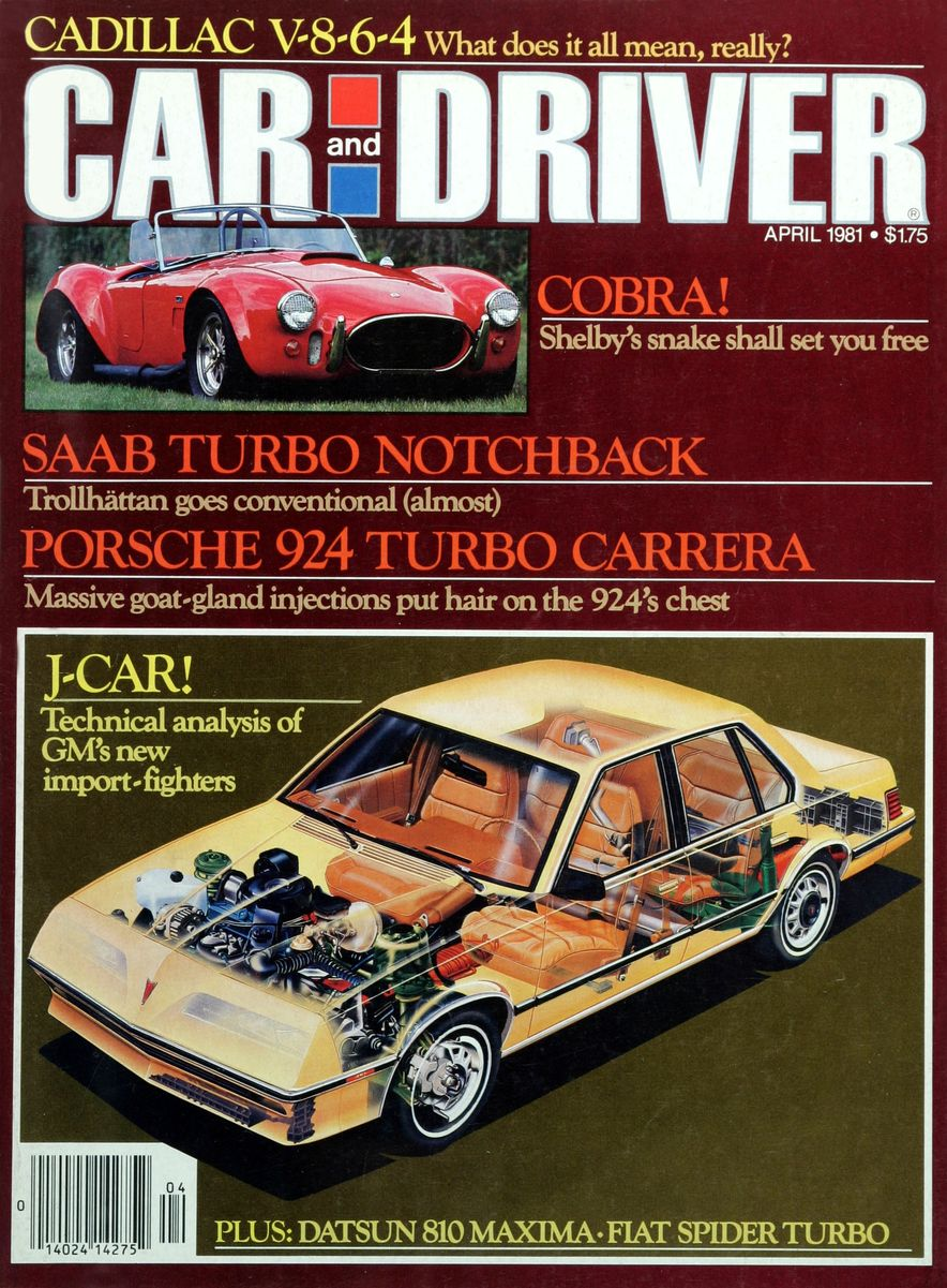 Like, Totally Rad: The Car and Driver Covers of the 1980s - Slide 17