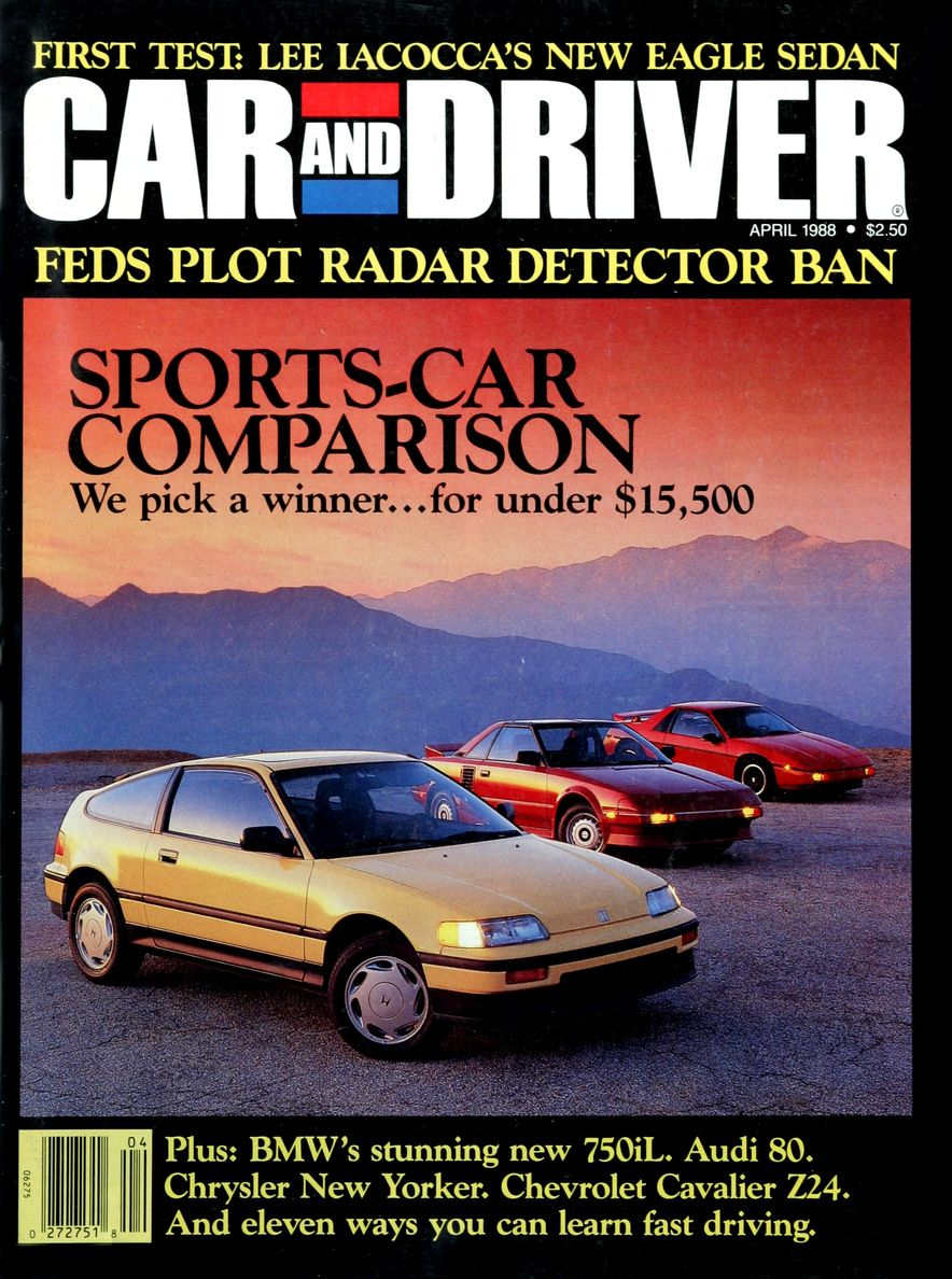Like, Totally Rad: The Car and Driver Covers of the 1980s - Slide 101