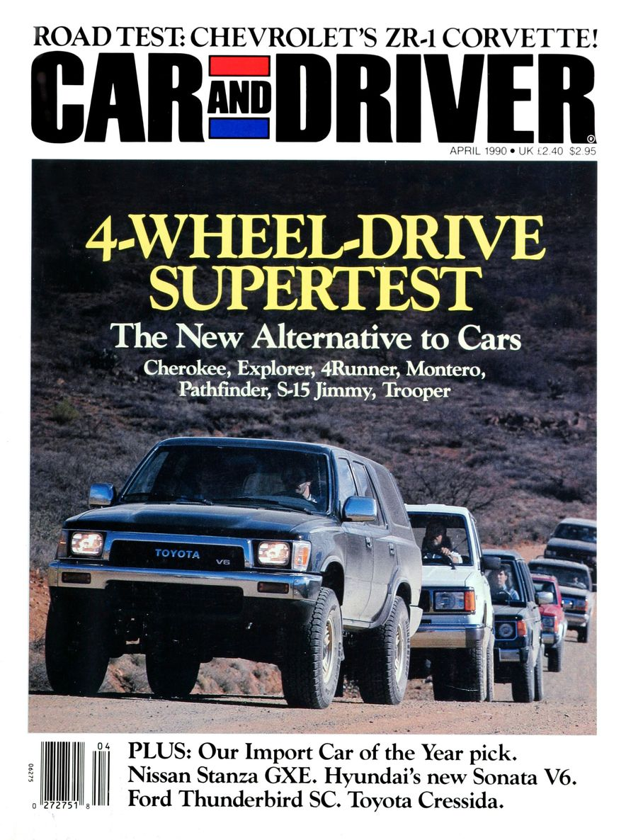 Formula C/D: The Car and Driver Covers of the 1990s - Slide 5