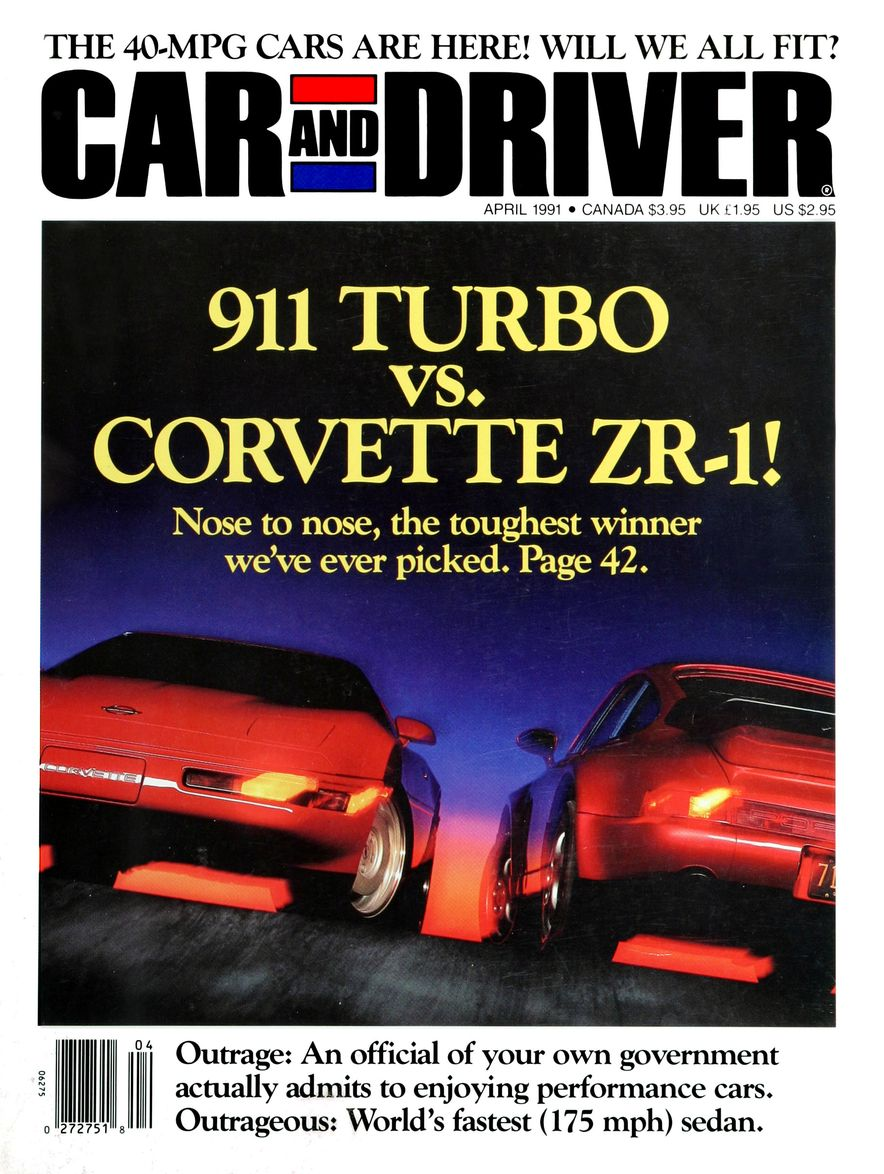 Formula C/D: The Car and Driver Covers of the 1990s - Slide 17
