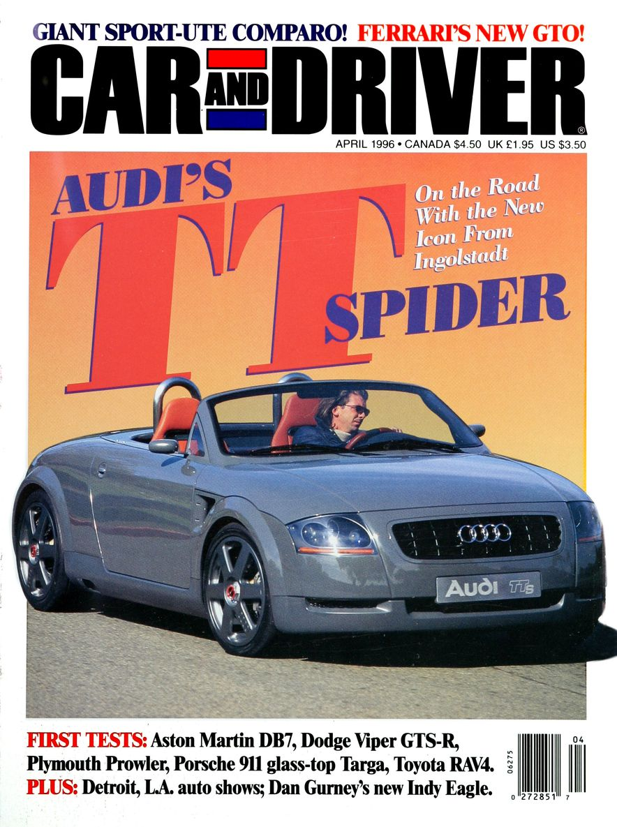 Formula C/D: The Car and Driver Covers of the 1990s - Slide 77