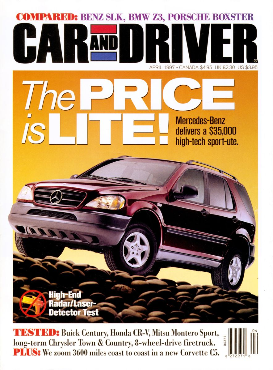 Formula C/D: The Car and Driver Covers of the 1990s - Slide 89