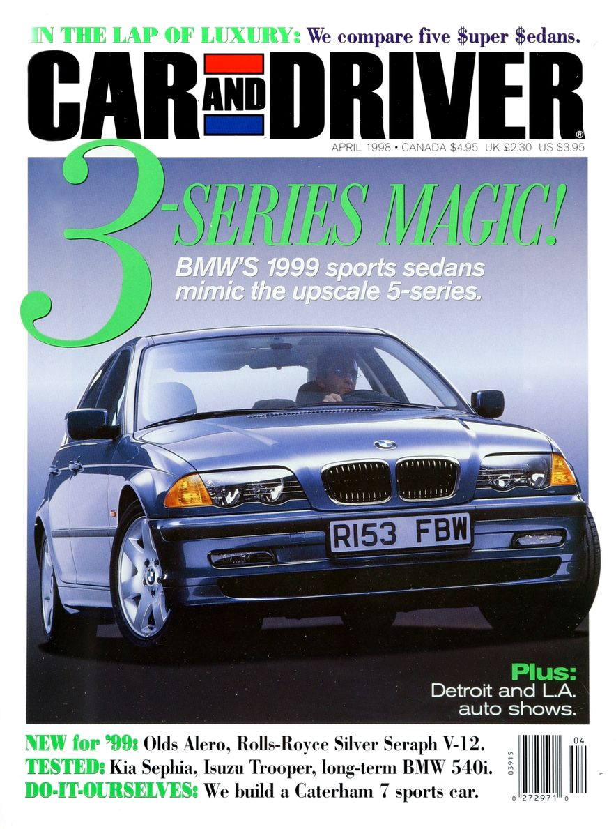 Formula C/D: The Car and Driver Covers of the 1990s - Slide 101