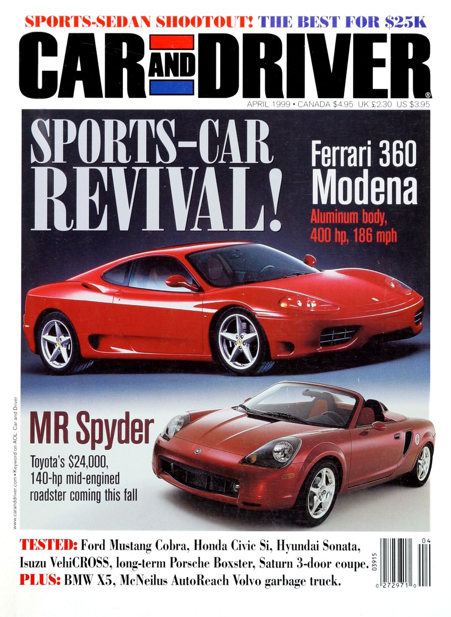 Formula C/D: The Car and Driver Covers of the 1990s - Slide 113