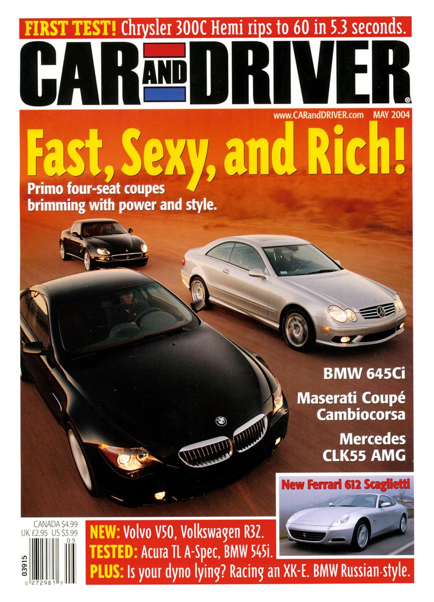 Going Millennial: The Car and Driver Covers of the 2000s and 2010s - Slide 54