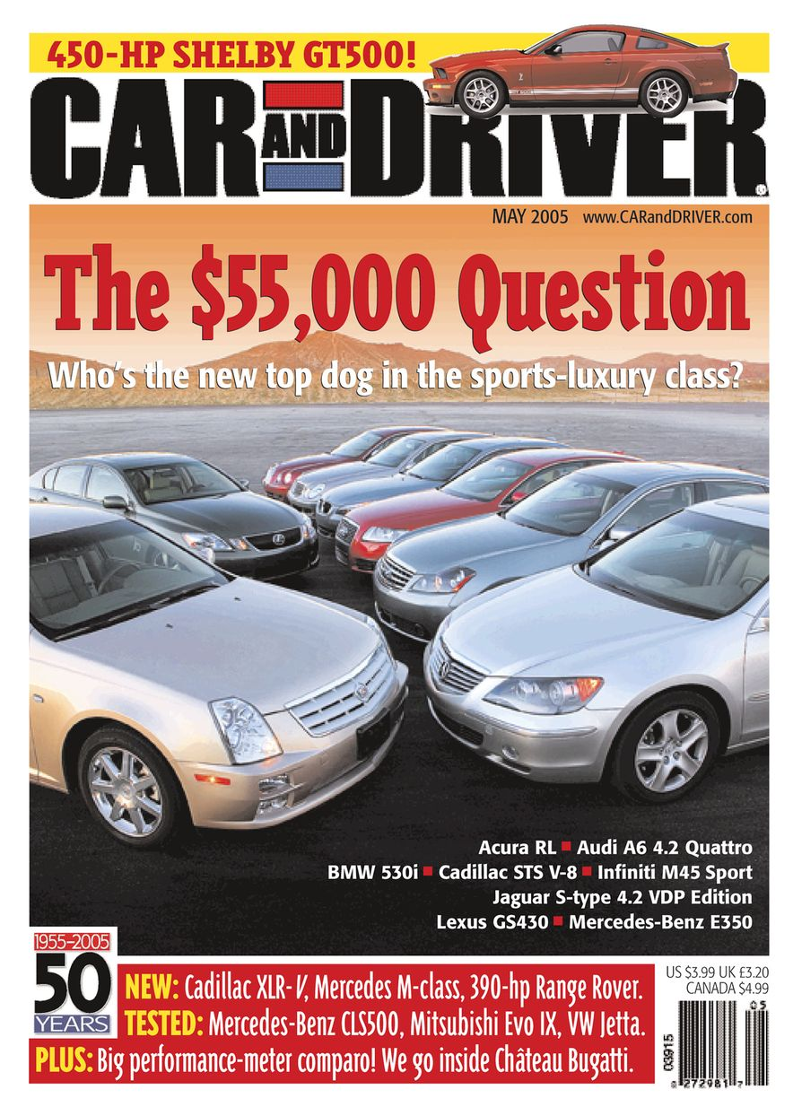 Going Millennial: The Car and Driver Covers of the 2000s and 2010s - Slide 66