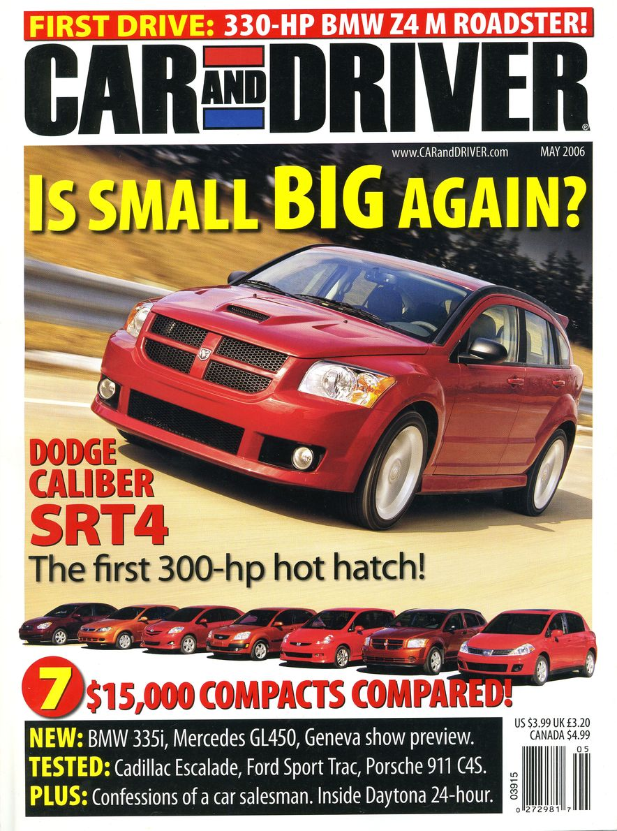Going Millennial: The Car and Driver Covers of the 2000s and 2010s - Slide 78