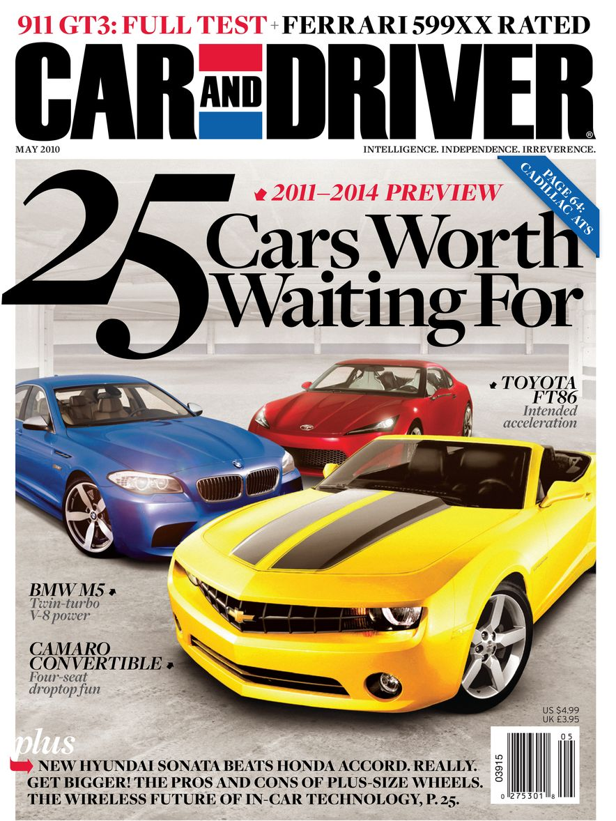 Going Millennial: The Car and Driver Covers of the 2000s and 2010s - Slide 126