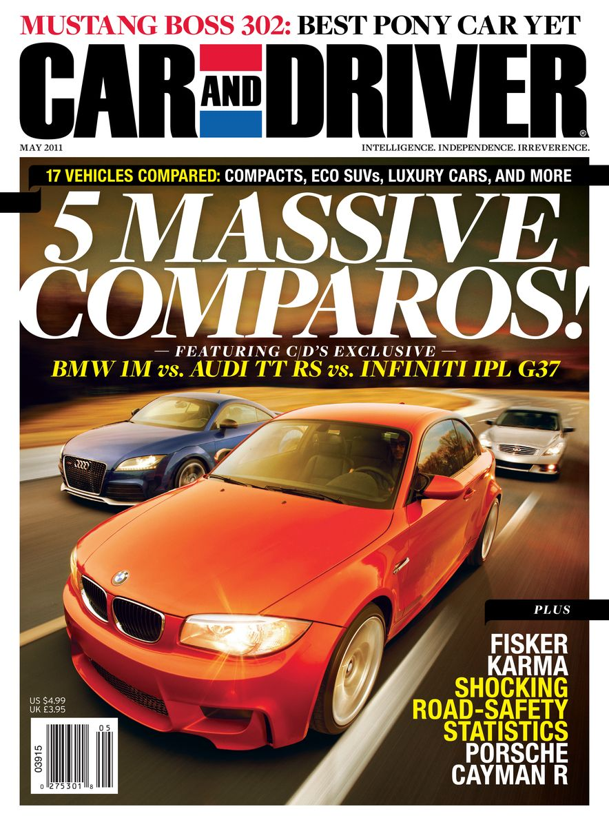 Going Millennial: The Car and Driver Covers of the 2000s and 2010s - Slide 138