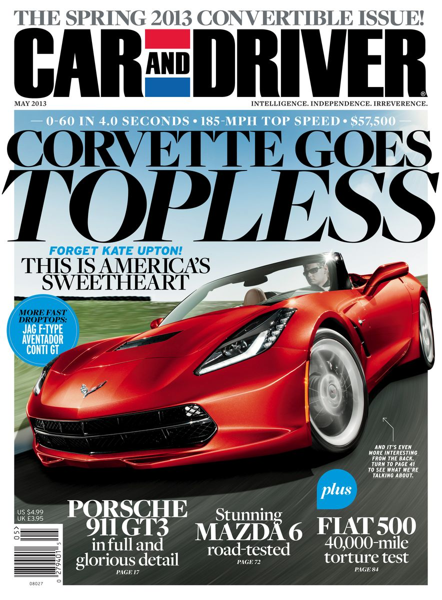 Going Millennial: The Car and Driver Covers of the 2000s and 2010s - Slide 162