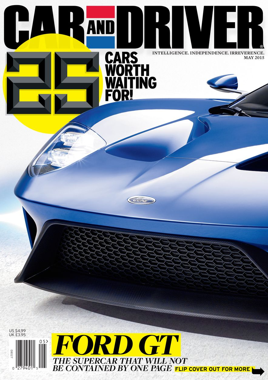 Going Millennial: The Car and Driver Covers of the 2000s and 2010s - Slide 186