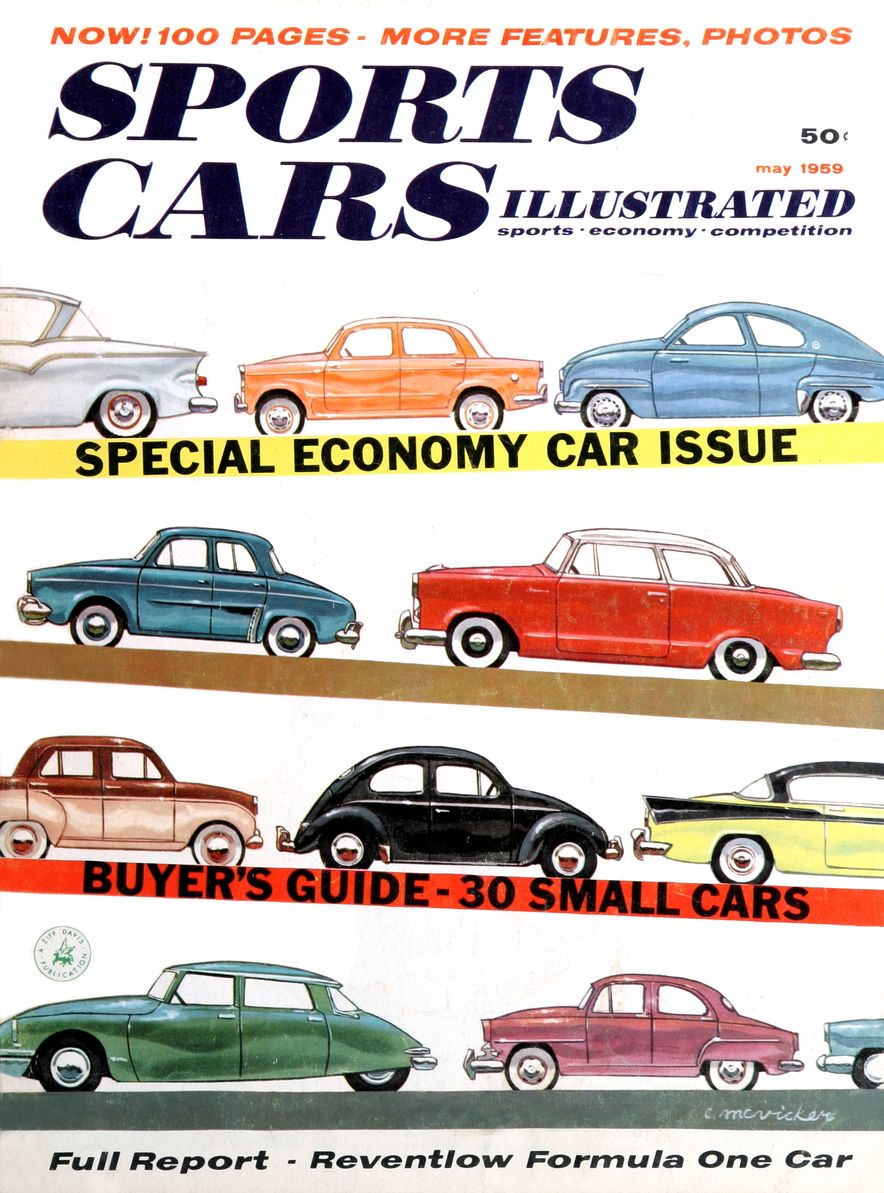 When We Were Young: The Car and Driver/Sports Cars Illustrated Covers of the 1950s - Slide 48