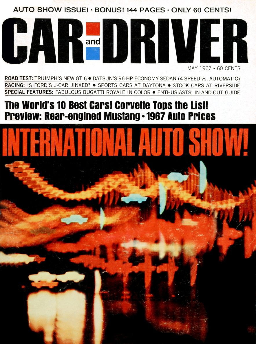 Getting Groovy and into the Groove: The Car and Driver Covers of the 1960s - Slide 90